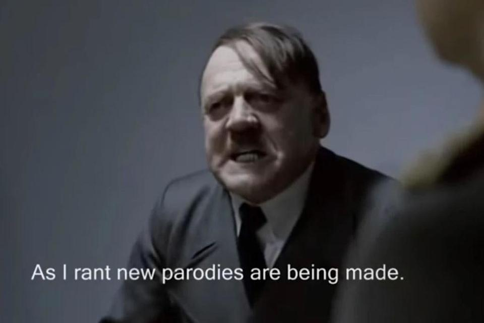 Rant: Bruno Ganz's Hitler in a scene from Downfall which Scott Tracey used to poke fun at his employers