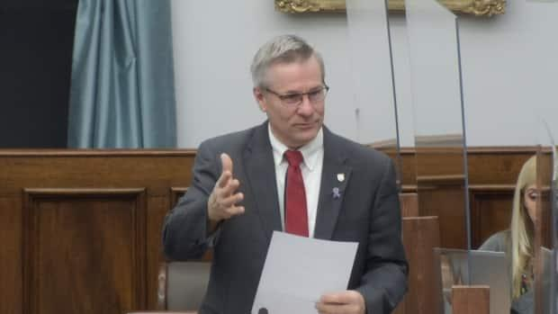 Liberal MLA Robert Henderson, who is a former provincial health minister, was raising questions about services at Prince County Hospital in the legislature Friday.