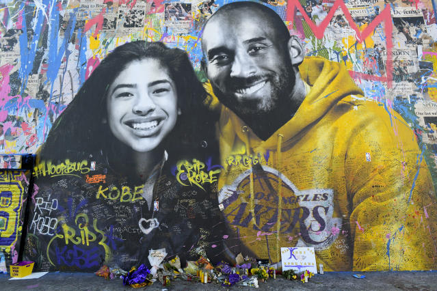 Vanessa Bryant continues to grieve her husband Kobe and daughter Gianna, and is bravely sharing her journey with the world. (Photo by Brian Rothmuller/Icon Sportswire via Getty Images)