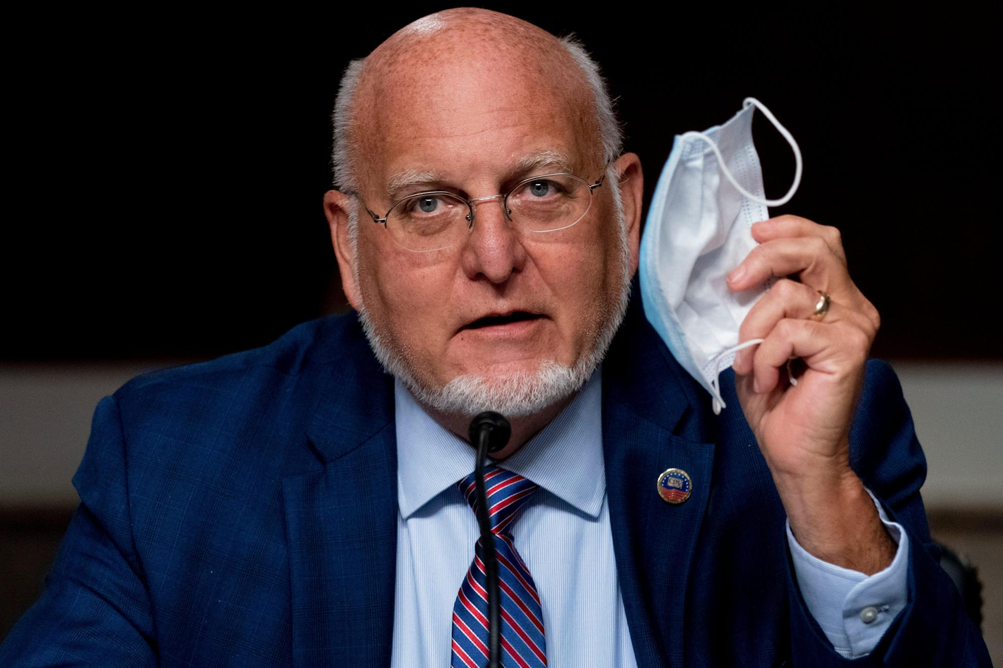 The CDC chief lost his way during COVID-19. Now his agency is in the balance.