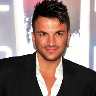 Peter Andre's family camping