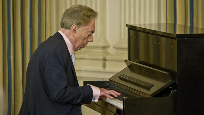 """<ul> <li><strong>Net worth: </strong>$1.2 billion</li> </ul> <p>Andrew Lloyd Webber might be the richest musician some of you have never heard of -- but you've heard much of his work. Lloyd Webber, along with lyricist Tim Rice, collaborated on many Broadway musicals, including """"Joseph and the Amazing Technicolor Dreamcoat"""" and """"Jesus Christ Superstar."""" Lloyd Webber also composed the music for """"Cats"""" and """"The Phantom of the Opera."""" He has won seven Tony and three Grammy awards to go along with an Academy Award and the Kennedy Center Honors award.</p> <p><small>Image Credits: Greg Mathieson / Shutterstock.com</small></p>"""