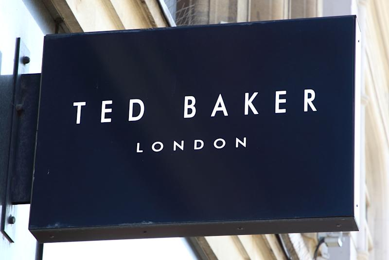 LONDON, UNITED KINGDOM - 2019/08/24: Ted Baker logo on it's store amongst the Luxury brands in London's prestige shopping area in Knightsbridge. (Photo by Keith Mayhew/SOPA Images/LightRocket via Getty Images)
