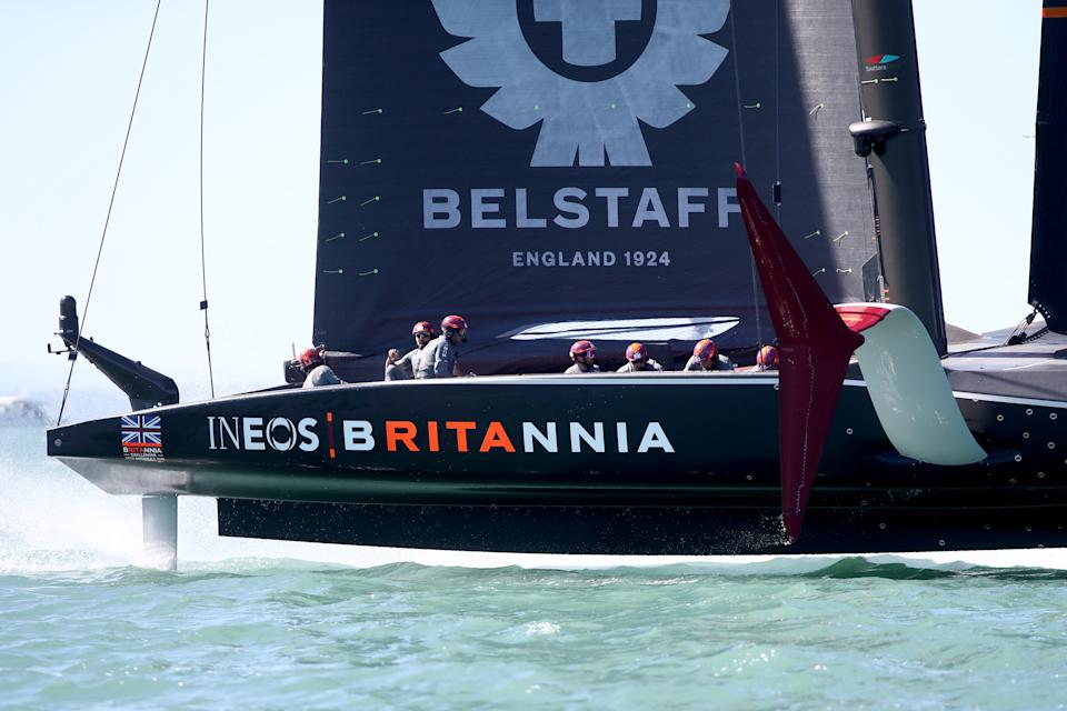INEOS Team UK, skippered by Ben Ainslie, will fly the British flag in the 36th edition of the America's Cup in New Zealand