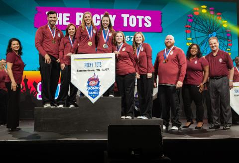SONIC Drive-In Honors Team From Summertown, Tenn. as Best in the Nation