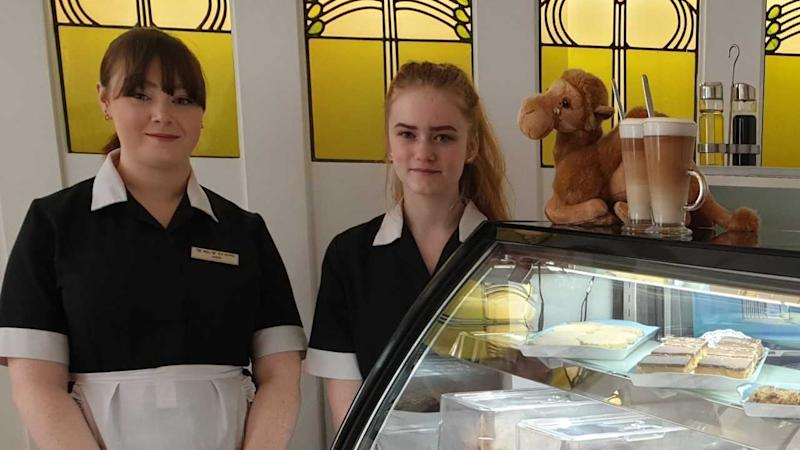 Scottish cafe selling camel milk cappuccinos to aid Kenyan farmers