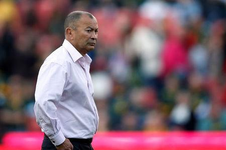 Rugby Union - First Test International - South Africa v England - Ellis Park Stadium, Johannesburg, South Africa - June 9, 2018 England head coach Eddie Jones before the match REUTERS/Siphiwe Sibeko