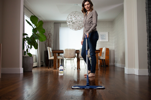"""Bona® Hardwood Floor Polish and Bona® Hard-Surface Floor Polish now incorporates an antimicrobial additive to inhibit the growth of bacteria, mold, and mildew. """"Protecting floors from visual damage, scratches, and scuffs is just as important as protecting from elements you can't see like bacteria, mildew, and mold,"""" said Leah Bradley, Brand Manager, Bona. """"Our floor polish formula offers a durable, protective layer and now includes antimicrobial properties all while leaving the floors with a beautiful shine."""""""