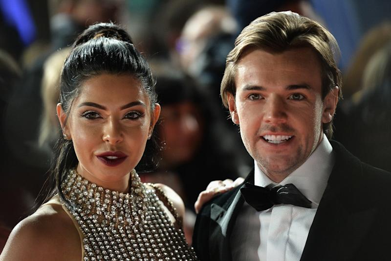 Outraged: Cara De La Hoyde and Nathan Massey: Jeff Spicer/Getty