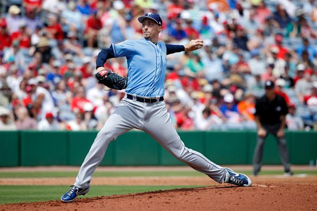 Blake Snell and the Tampa Bay Rays are preparing for another season of openers and bulk guys. (Getty Images)