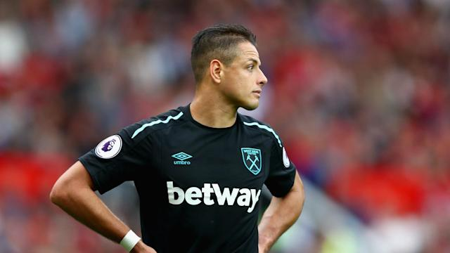 Despite reports the club is listening to offers for the forward, the West Ham United manager has lavished praise on the Mexico international