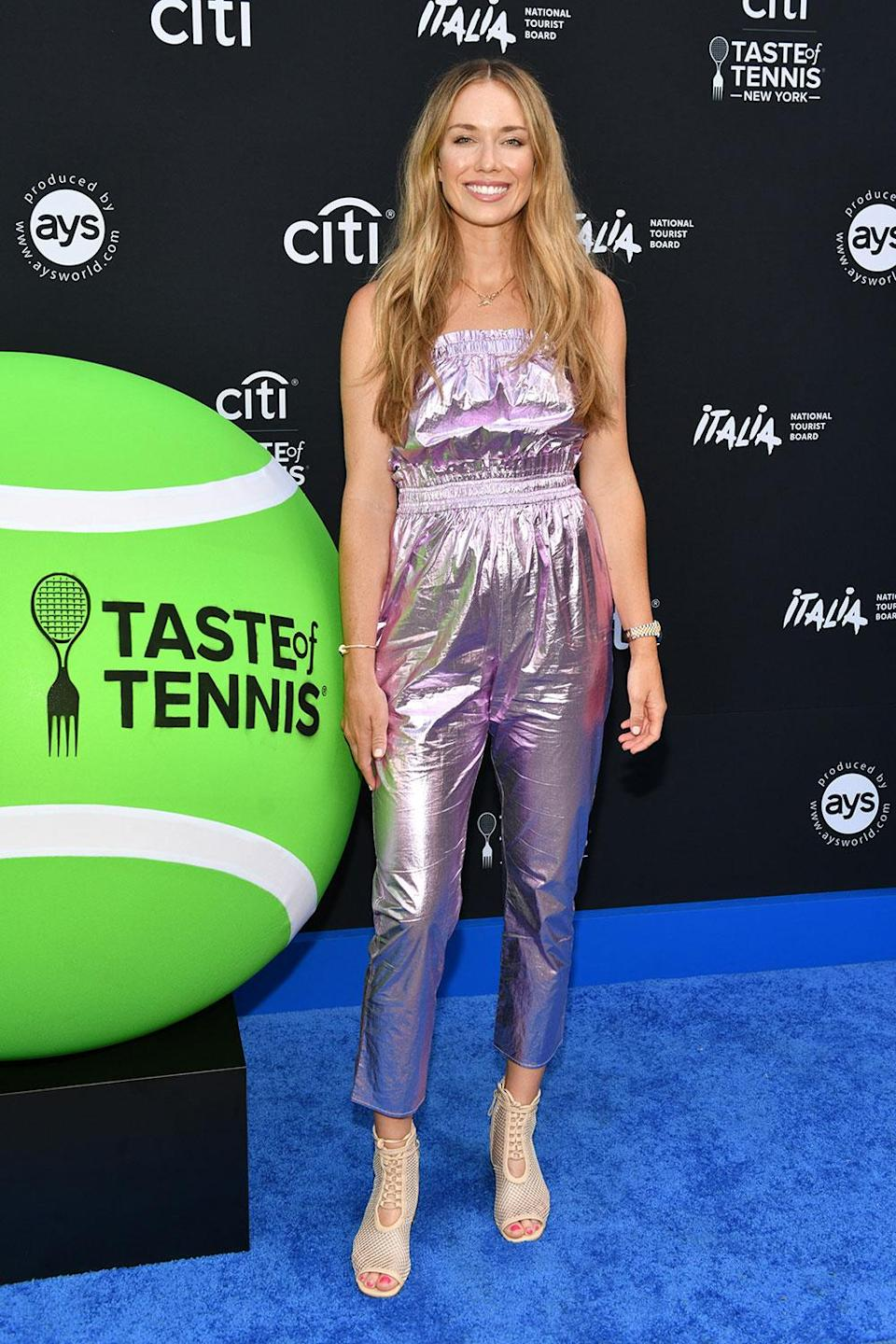 <p>at Citi's Taste of Tennis celebration at Tavern On the Green on Aug. 26. </p>