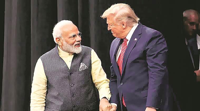 Trump-Modi meeting, Donald trump India visit, Imran Khan on kashmir, Narendra modi trump meeting, donald trump kashmir mediation, india pakistan kashmir issue, indian express