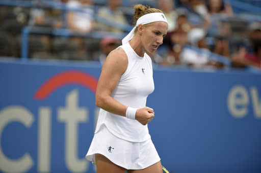 Kuznetsova unable to defend Washington title over 'visa issues'