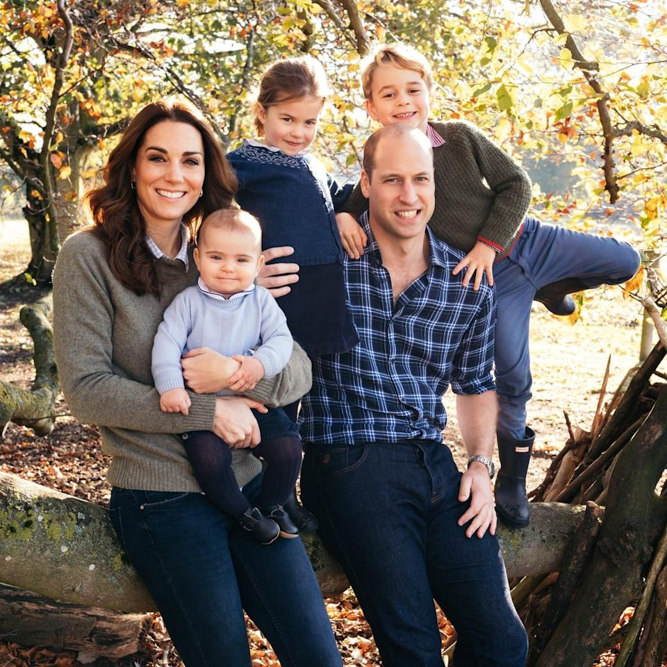 The Royal Family's 2018 Christmas Cards Might Be The Most