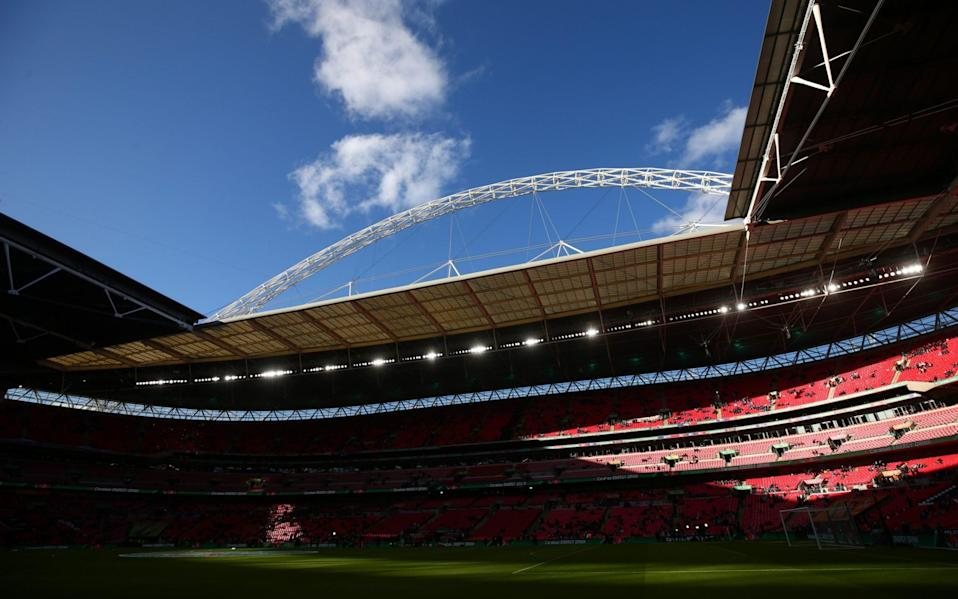 Uefa 'seriously considering' Wembley as hopes for Champions League final switch grow - Getty Images