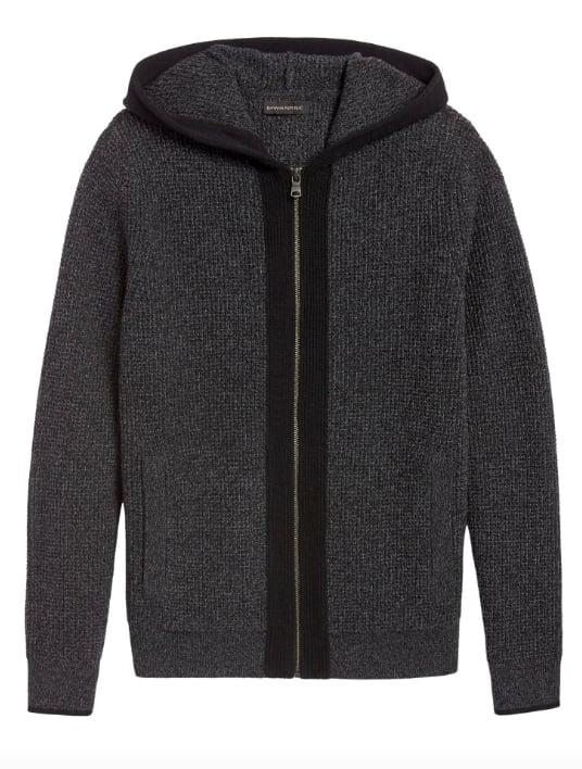 "<p>The <a href=""https://www.popsugar.com/buy/Waffle-Knit-Sweater-Hoodie-516646?p_name=Waffle-Knit%20Sweater%20Hoodie&retailer=bananarepublic.gap.com&pid=516646&price=149&evar1=savvy%3Auk&evar9=46893269&evar98=https%3A%2F%2Fwww.popsugar.com%2Fsmart-living%2Fphoto-gallery%2F46893269%2Fimage%2F46893297%2FWaffle-Knit-Sweater-Hoodie&list1=shopping%2Cbanana%20republic&prop13=api&pdata=1"" rel=""nofollow"" data-shoppable-link=""1"" target=""_blank"" class=""ga-track"" data-ga-category=""Related"" data-ga-label=""http://bananarepublic.gap.com/browse/product.do?pid=515698002&amp;cid=1139652&amp;pcid=80117&amp;vid=1&amp;grid=pds_99_401_1#pdp-page-content"" data-ga-action=""In-Line Links"">Waffle-Knit Sweater Hoodie</a> ($149) is a cozy, warm, pocketed zip-up that looks just as good in a chill office setting as it does at a postgym meetup.<br></p>"