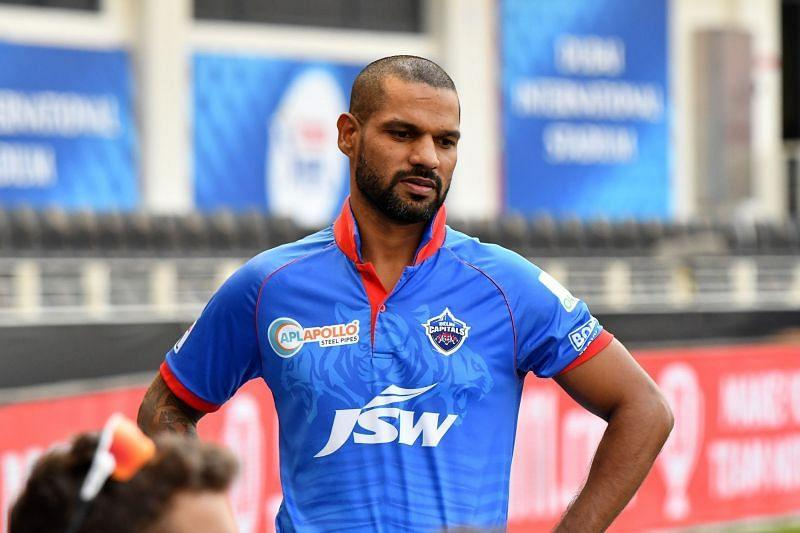 A hero not long back, Shikhar Dhawan went back without troubling the scorers. [PC: iplt20.com]