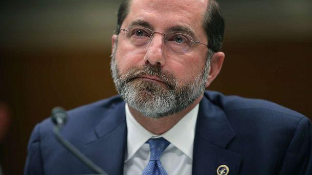 PHOTO: Health and Human Services Secretary Alex Azar testifies before the Senate Labor, Health and Human Services, Education and Related Agencies Subcommittee on Capitol Hill, Feb. 25, 2020. (Chip Somodevilla/Getty Images)