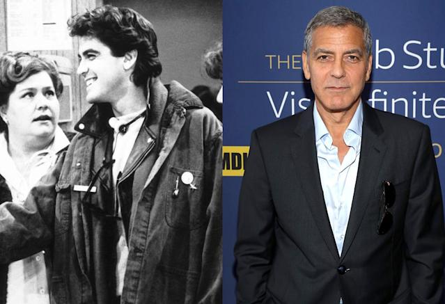 <p>It's true: Superstar Clooney starred in <em>E/R</em> and <em>ER</em>. Before his career-making turn as Dr. Doug Ross in NBC drama <em>ER</em>, his first TV role came as Ace, an ER technician, in this short-lived sitcom from Norman Lear's production company. Also in the cast: future <em>Seinfeld</em> star Jason Alexander as hospital administrator Harold Stickley, Clooney's future<em> Ocean's Eleven</em> co-star Elliott Gould as Dr. Howard Sheinfeld, and Mary McDonnell — a future <em>ER</em> Emmy winner — as Dr. Eve Sheridan. (Photo: CBS/Everett Collection/Getty Images) </p>