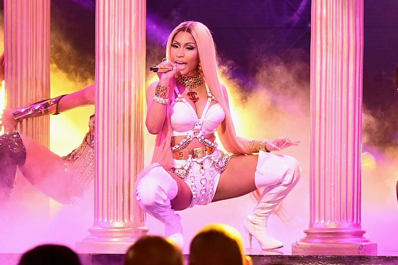 Image result for Nicki Minaj asked by human rights group to pull out of Saudi Arabia concert: 'Refuse the regime's money'