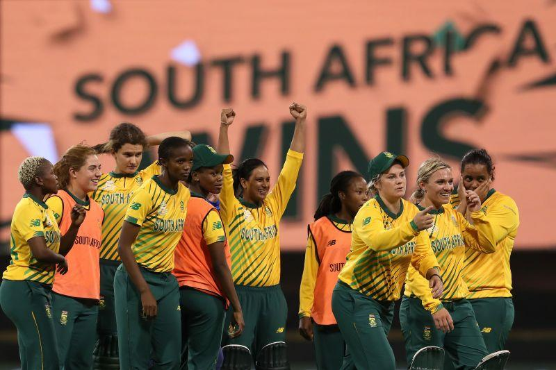 South Africa completed their first-ever win over England in T20 World Cups