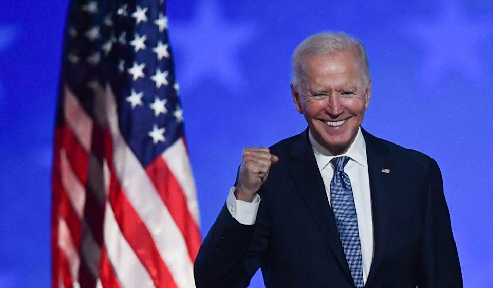 Joe Biden says the US will rejoin the Paris accord if he wins the presidential election. Photo: AFP