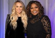 "<p>Carrie Underwood joins CeCe Winans for Winans' ""An Evening of Thanksgiving"" with Compassion International special, streaming through March 6.</p>"