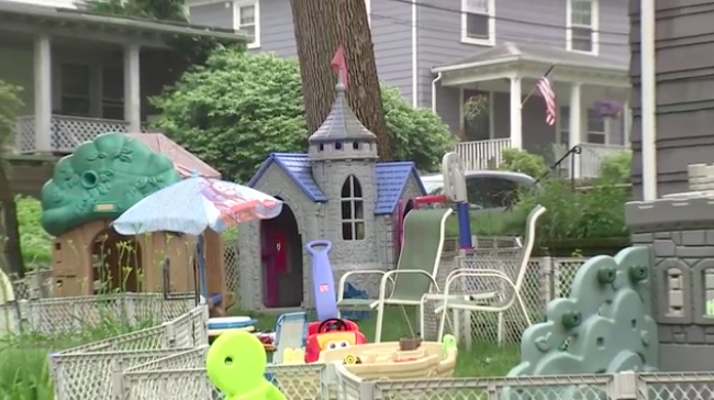 Toys in yard (Photo: WHDH)