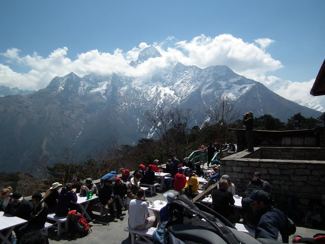 Hotel Everest View in the Himalayas