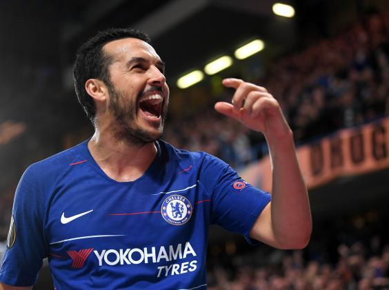 Pedro impressed as Chelsea made it through to the final four (Getty)