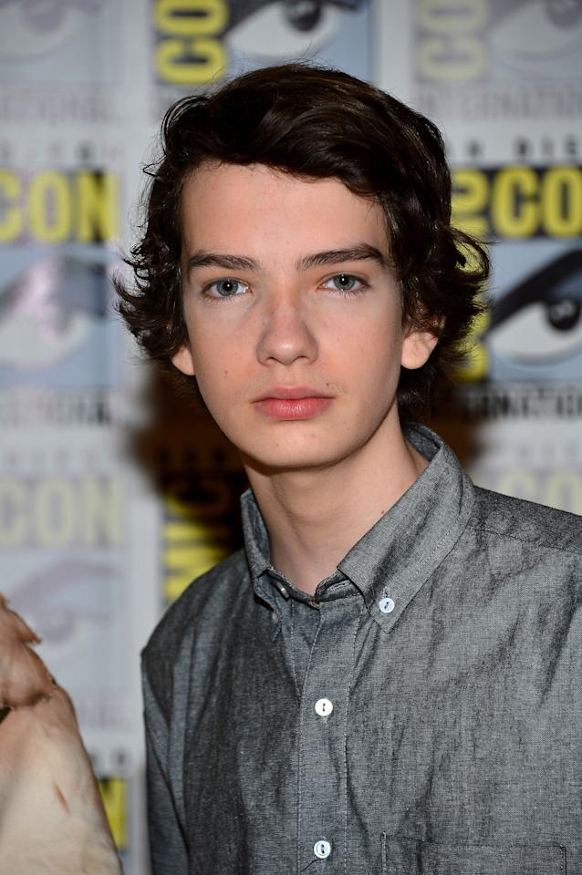 "SAN DIEGO, CA - JULY 13:  Kodi Smit-McPhee attends ""Paranorman"" during Comic-Con International 2012 held at the Hilton San Diego Bayfront Hotel on July 13, 2012 in San Diego, California.  (Photo by Frazer Harrison/Getty Images)"
