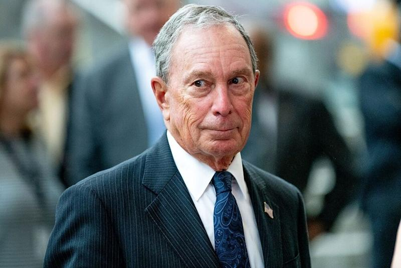 Mike Bloomberg in 2019. | Roy Rochlin/Getty