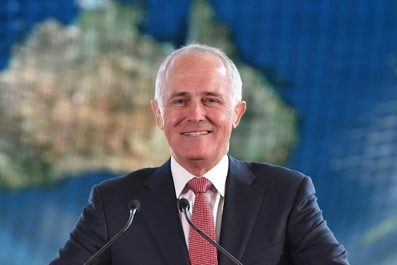 """Australian Prime Minister Malcolm Turnbull says the 12 new submarines ordered from France """"will be the most sophisticated naval vessels being built in the world"""""""
