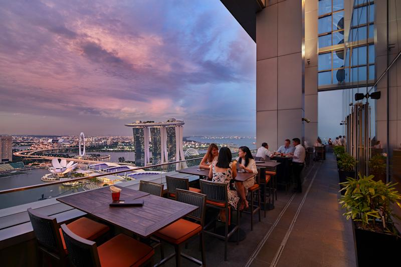 LeVeL33 terrace with a view. (PHOTO: LeVeL33)