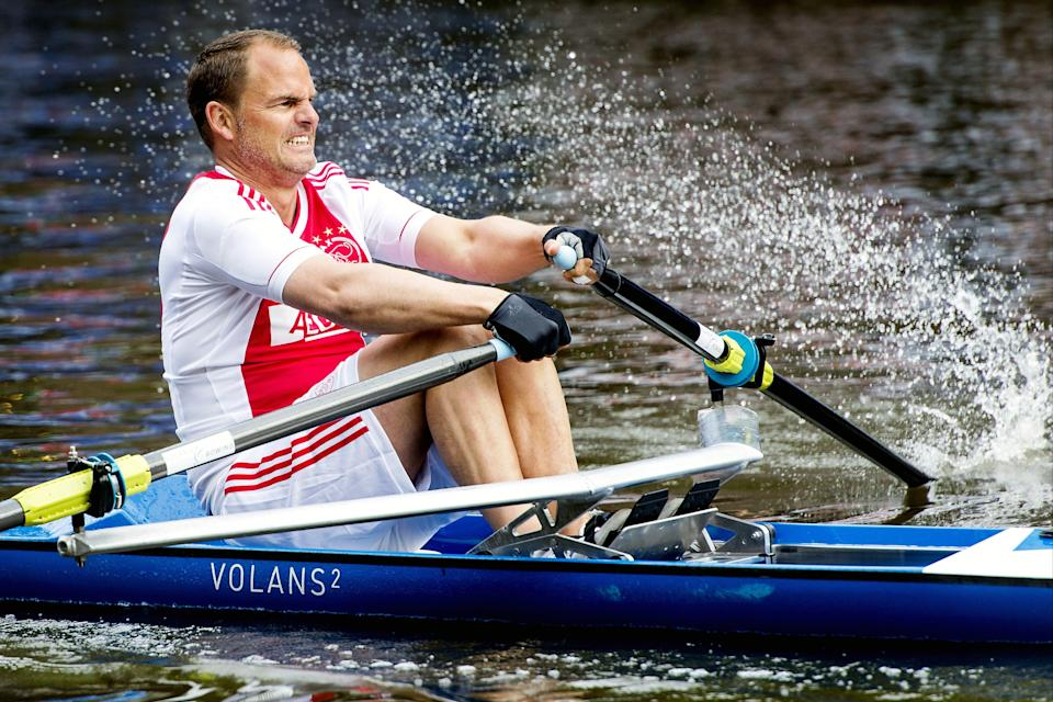 De Boer on the canals of Amsterdam in 2013 (AFP via Getty Images)