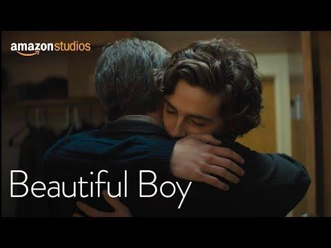 """<p>Starring opposite Steve Carrell in this 2018 father-son biographical drama based on two memoirs, Chalamet showcases his serious acting chops. In <em>Beautiful Boy</em>, he portrays Nic, a writer's son who becomes addicted to methamphetamines, recovering and relapsing countless times over the years. Chalamet offers a performance that is gut-wrenching and moving, despite criticism of the film being a privileged look at addiction.</p><p><a class=""""link rapid-noclick-resp"""" href=""""https://www.amazon.com/gp/video/detail/amzn1.dv.gti.84b25231-cc09-d33f-5eab-38db222d3fa3?autoplay=1&ref_=atv_cf_strg_wb&tag=syn-yahoo-20&ascsubtag=%5Bartid%7C10054.g.36630235%5Bsrc%7Cyahoo-us"""" rel=""""nofollow noopener"""" target=""""_blank"""" data-ylk=""""slk:Watch Now"""">Watch Now</a></p><p><a href=""""https://www.youtube.com/watch?v=y23HyopQxEg"""" rel=""""nofollow noopener"""" target=""""_blank"""" data-ylk=""""slk:See the original post on Youtube"""" class=""""link rapid-noclick-resp"""">See the original post on Youtube</a></p>"""