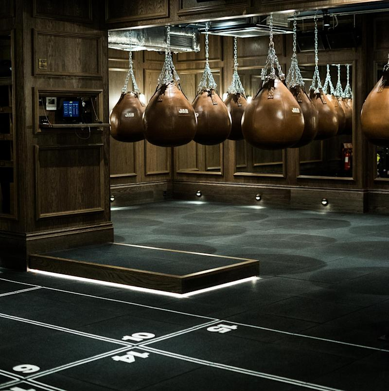 JAB is a boxing studio which just opened in Mayfair