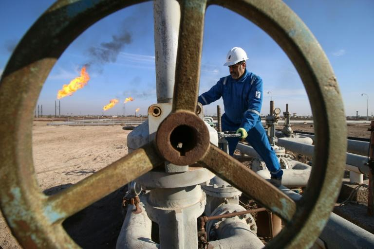Global shortages of natural gas are exacerbated by closures of coal and nuclear power stations, a lack of wind, drought and competition for supplies ahead of what is forecast to be a cold northern winter (AFP/HAIDAR MOHAMMED ALI)