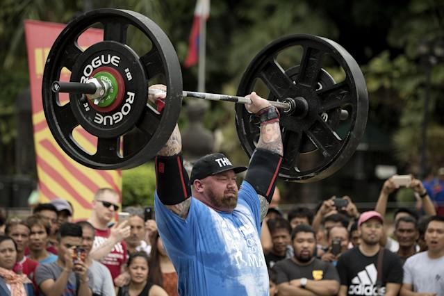 "Hafthor Julius Bjornsson isn't just ""The Mountain"" on ""Game of Thrones,"" he's now officially the World's Strongest Man. (Getty Images)"