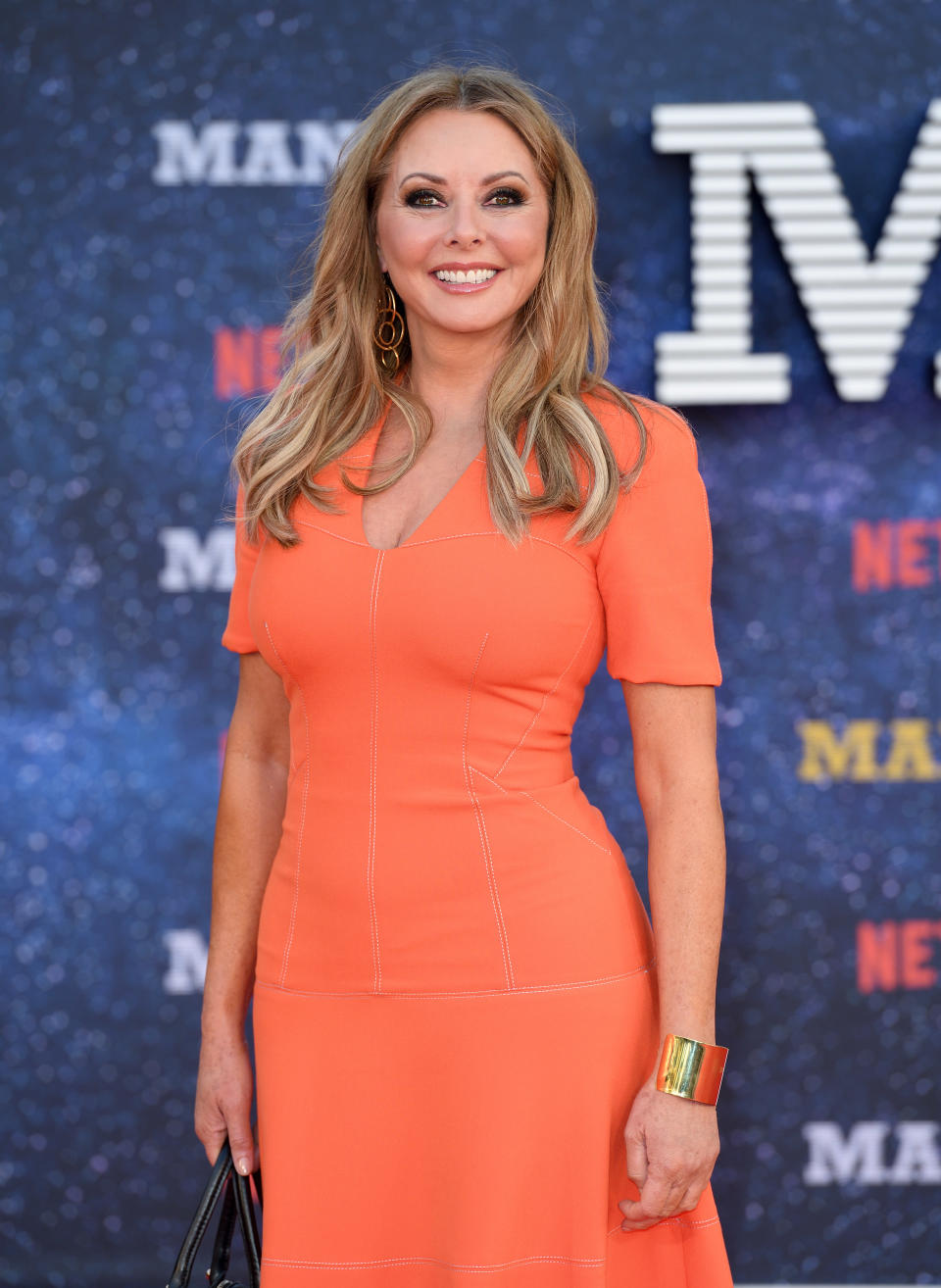 LONDON, ENGLAND - SEPTEMBER 13:  Carol Vorderman attends the World premiere of the new Netflix series