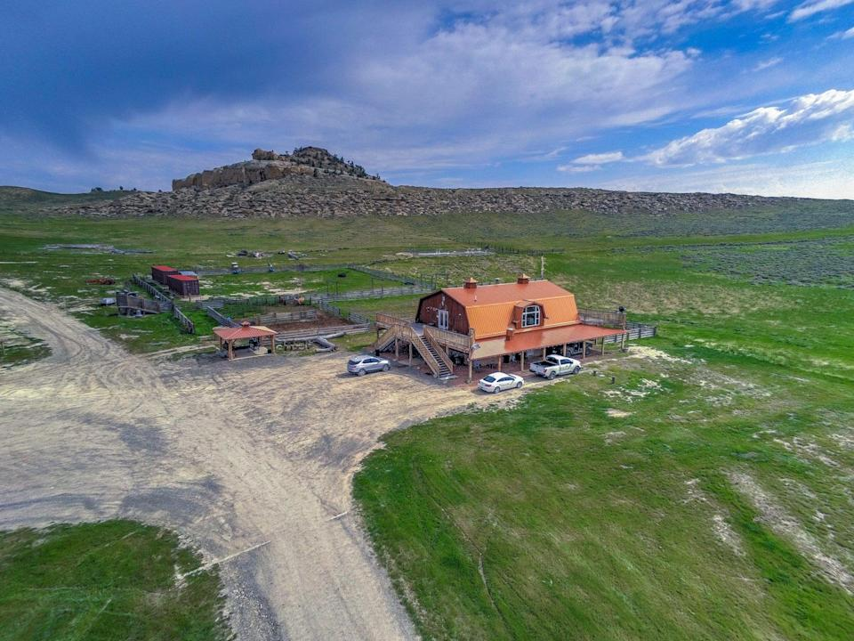 Pandemic bolthole: Kanye West's 4,500 acre ranch in WyomingJPKing.com