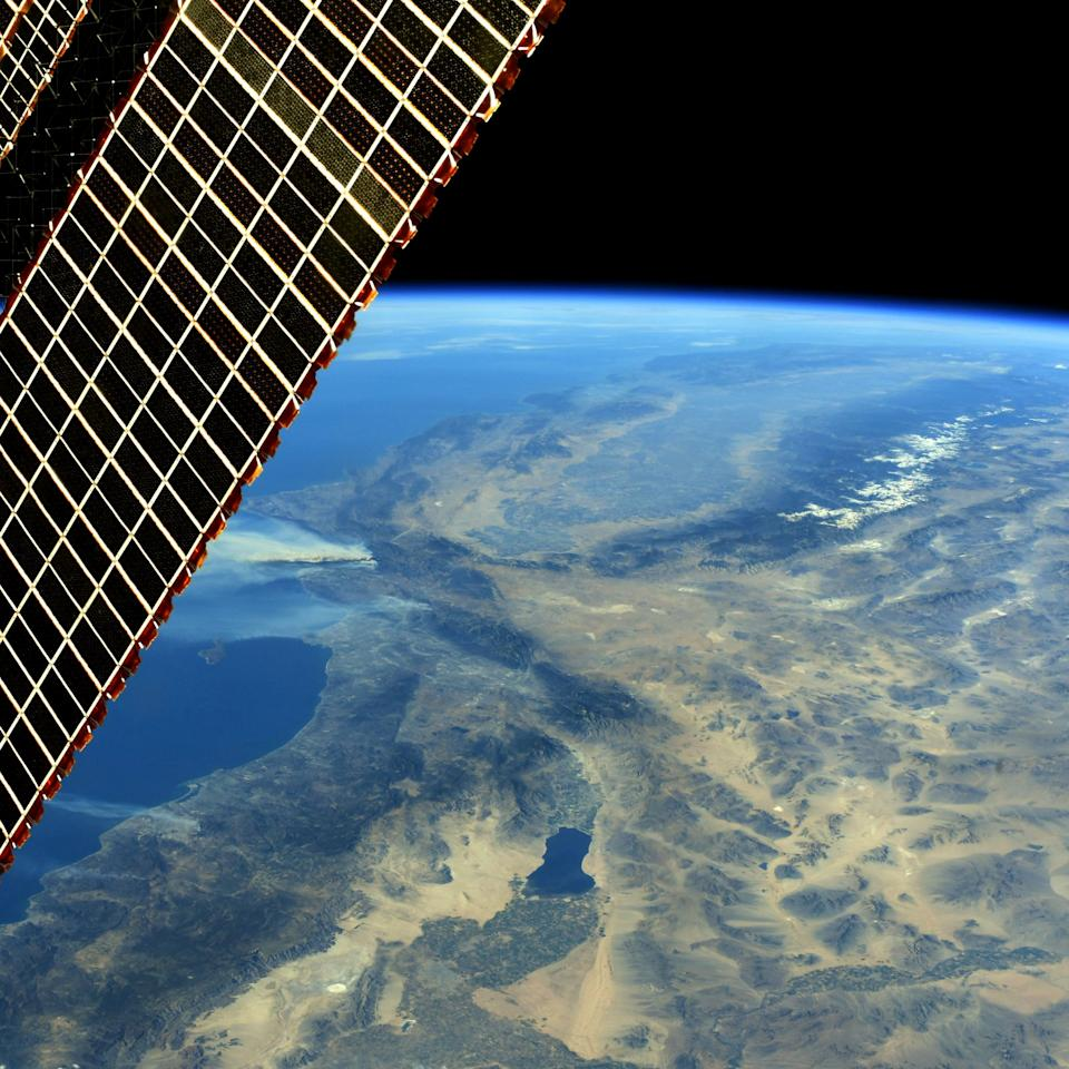 <p>California's fires are seen by the ISS (Picture: Reuters) </p>