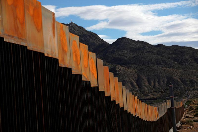 File Photo: A general view shows a newly built section of the U.S.-Mexico border wall at Sunland Park, U.S. opposite the Mexican border city of Ciudad Juarez