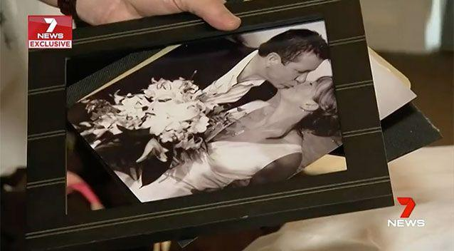 The intruders allegedly smashed wedding photos and frames while looking for valaubles. Source: 7 News