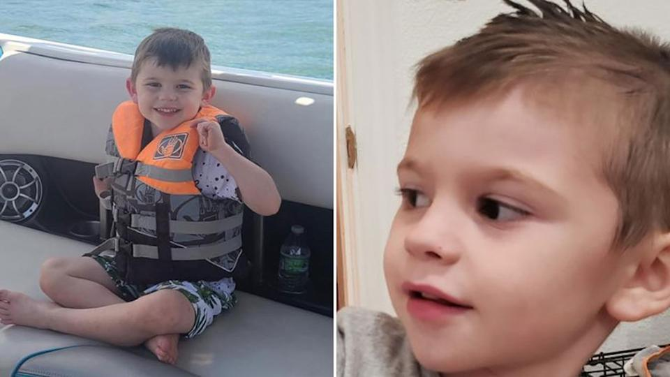 Kache Wallis was found dead inside a toy box after his family reported him missing. Source: Facebook - Hurricane City Police Department/GoFundMe