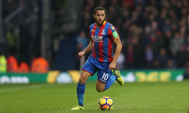 Andros Townsend has three years left on the contract he signed with Crystal Palace in 2016.