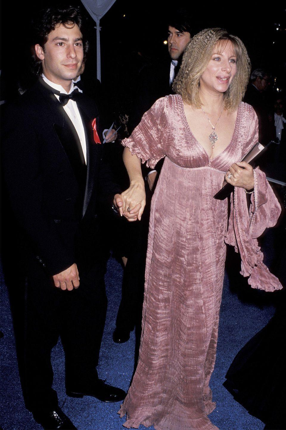 <p>Broadway's favorite and greatest diva, Barbra Streisand, passed on her strong nose and sharp chin to her son, Jason Gould.</p>