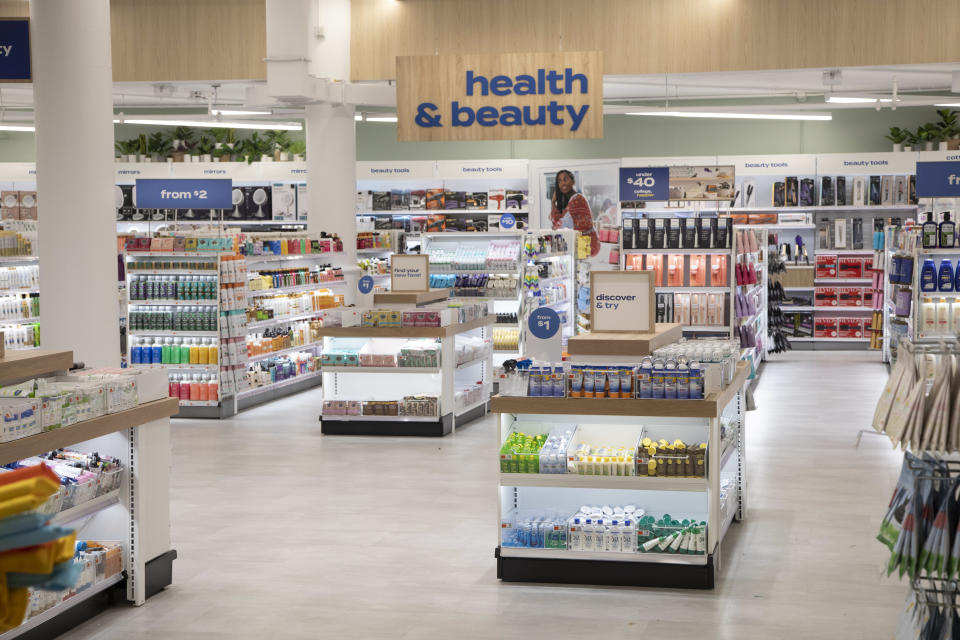 A spacious and more organized health and beauty department at the Bed Bath & Beyond flagship. - Credit: Rob Tannenbaum