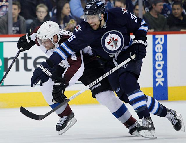 Wheeler scores in OT and Jets beat Avalanche